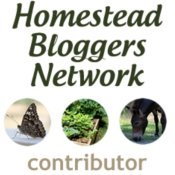 Homestead Bloggers' Network contributor badge.