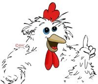 Claudia chicken says ...