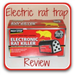 Link to my review of the best electronic rat trap on the market.