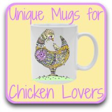 Chicken themed mugs - link