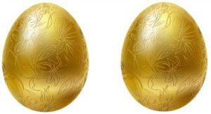 2 Golden Eggs - a disappointing review!