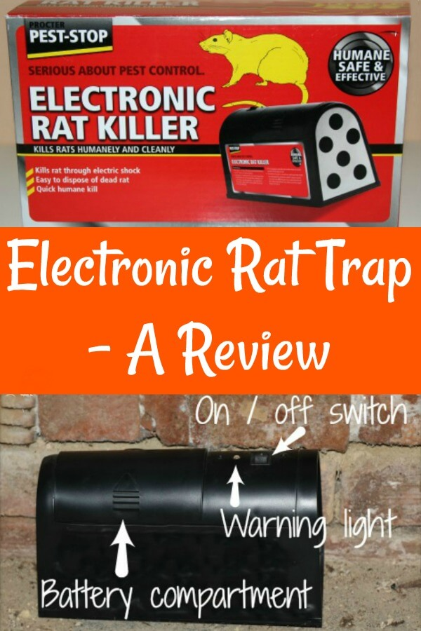An electronic rat trap review - Pin for later.