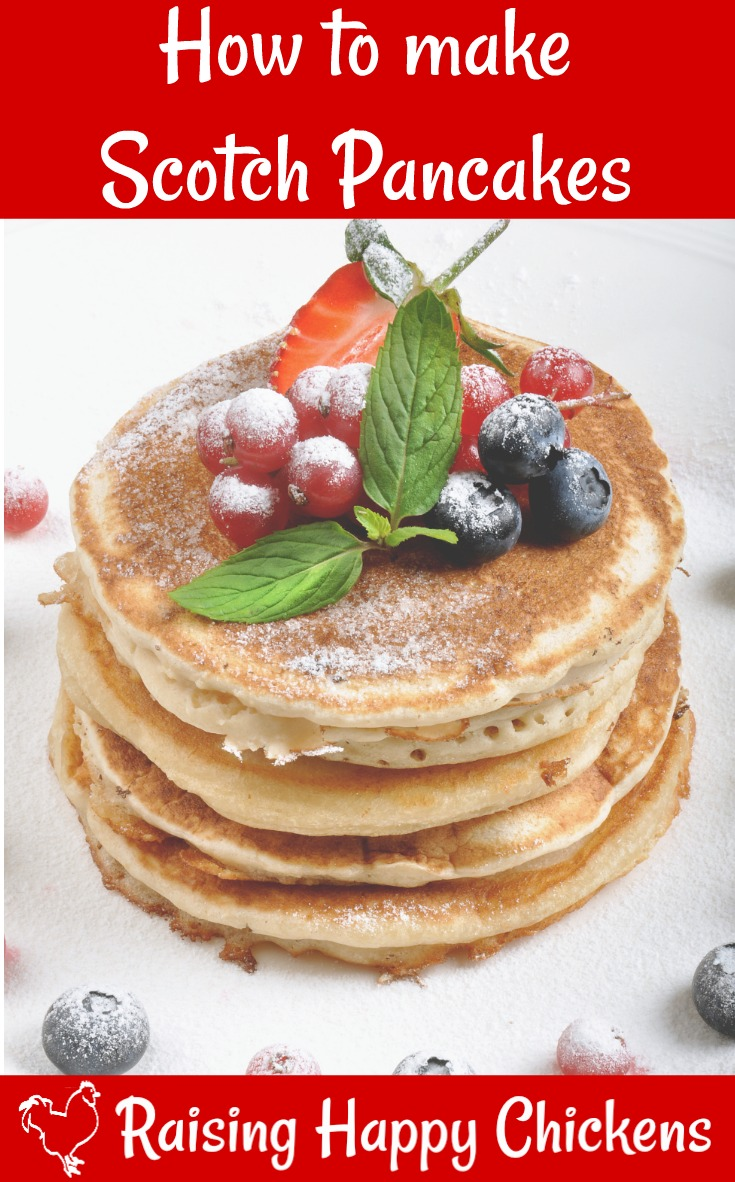 A traditional recipe for Scotch pancakes. Click this link.