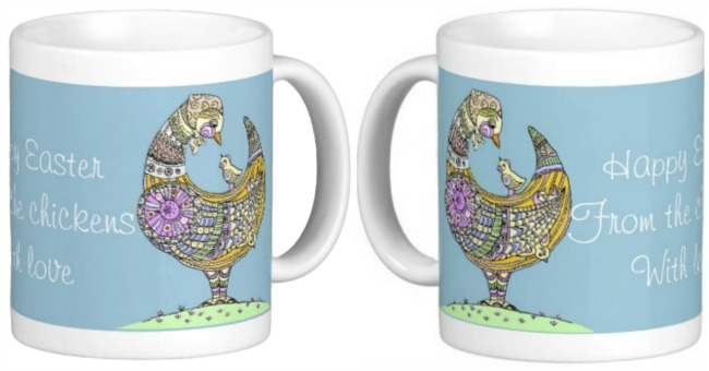 See my Easter chick mug in my online store - click here.