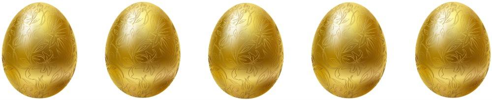 My 5 Golden Eggs Award!