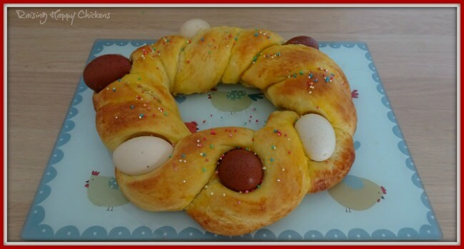 Authentic Italian Easter bread.