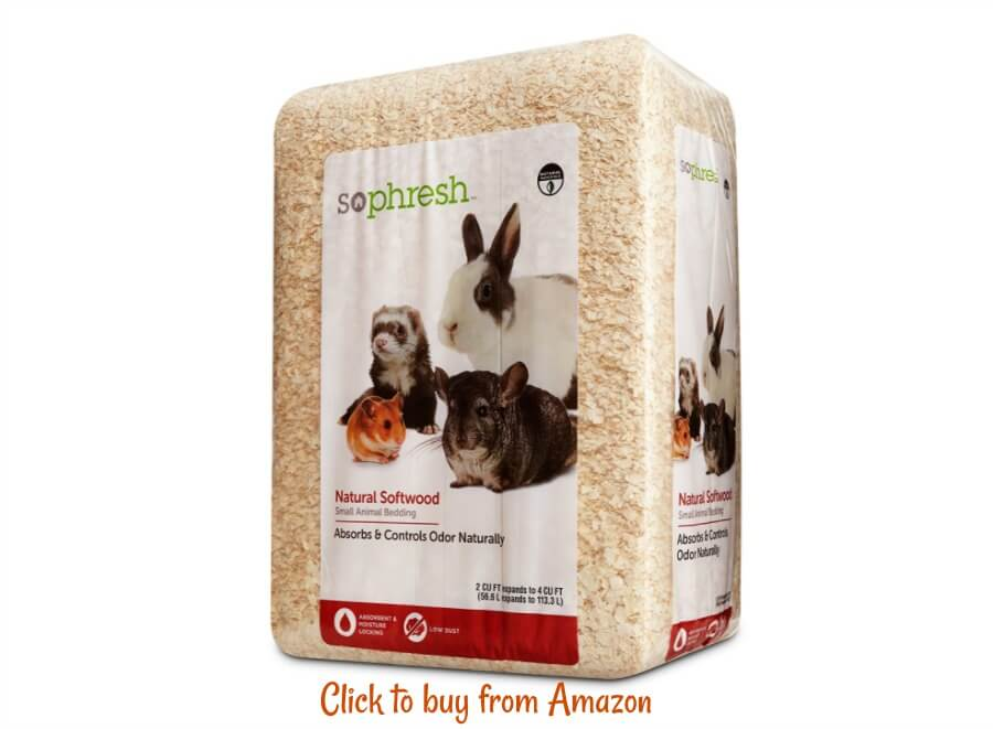 Brooder bedding: shavings are a good option as long as you make sure you clean them out regularly. Buy at your local feed store or online here from Amazon.