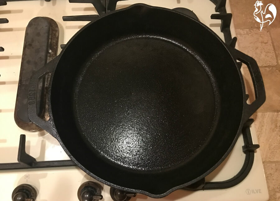 My Lodge cast iron skillet.