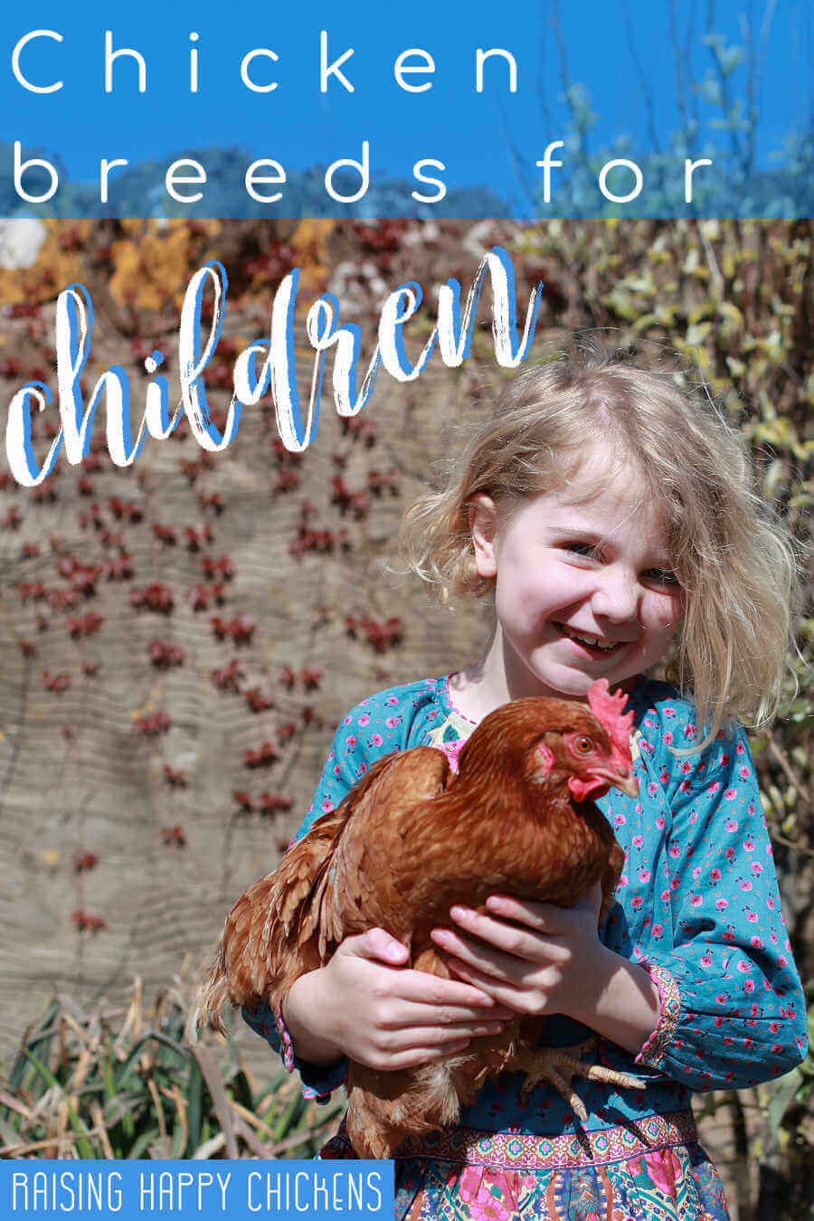 Chickens and children