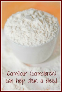 A cup of cornflour can be a life-saver