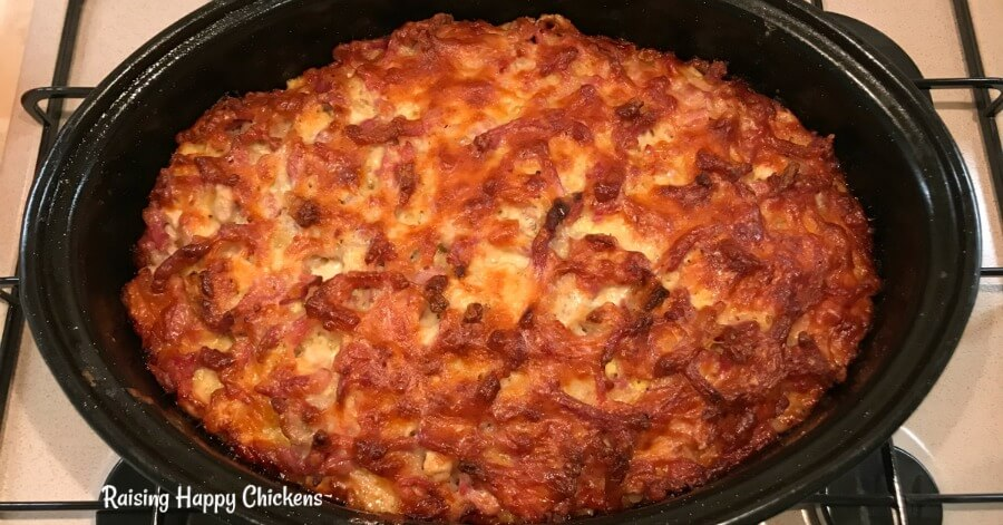This egg and bacon casserole recipe is simple to follow and delicious to eat. Prepare it in advance and try it for breakfast or lunch, or with a green salad for dinner. Makes plenty for 4 people.