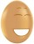 Egg with a laughing face