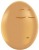 Egg with a sleepy face