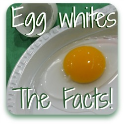 Egg whites - are they good for you? Link.