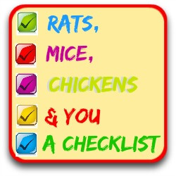 Get my free downloadable checklist to control rats in the chicken coop.