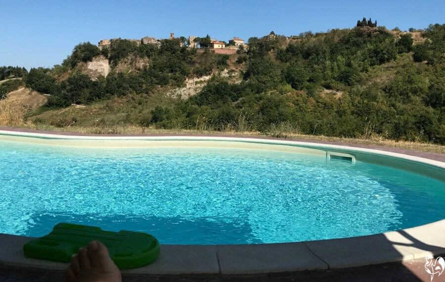 My swimming pool office!