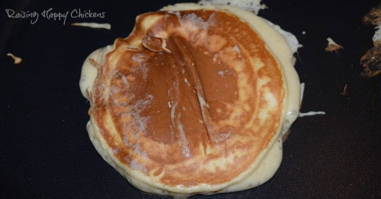 A Scotch pancake with too much batter.