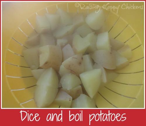 Spanish omelette potatoes