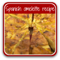Scrummy Spanish omelette recipe - click here.