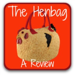 The Henbag and Henbag coin purse: two inexpensive novelty gifts for the chicken lover in