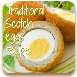 Scotch eggs - ideal for a picnic!