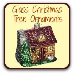 Glass Christmas tree ornaments - link.