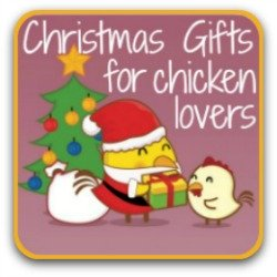 Christmas gifts for chicken lovers! Click to see them all!