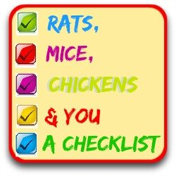 Clickable link to my checklist about pest control in the chicken coop.