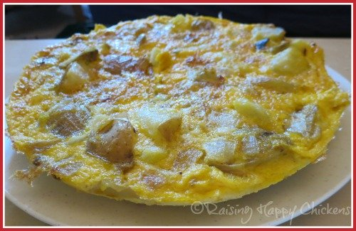 Spanish tortilla recipe finished products every time