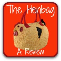 The Henbag and Henbag coin purse: two inexpensive novelty gifts for the chicken lover in your life!